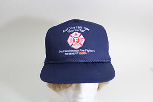 Boot Drive Southern Nevada Firefighters/MDA Baseball Cap Hat Navy