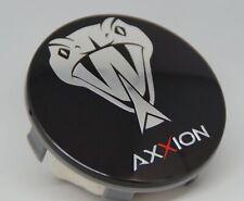 Axxion 70 mm 1 Stück Orginal Nabenkappen  Felgendeckel schwarz Z 07 - 5