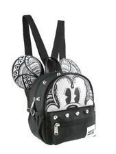 PU leather Mickey Mouse Style Small 2-in-1 Cross-body bag/ Mini Backpack