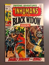 Amazing Adventures 1 NM 1st Solo Inhumans Black Widow High Gloss Sharp!!!