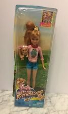 New Mattel 2014 Barbie Sisters Great Puppy Adventure Stacie Doll Dog Beach Rare
