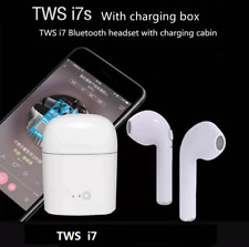 i7S Dual Bluetooth4.2 Wireless Earbuds Headphone Airpods foriPhonesx Samsung LG