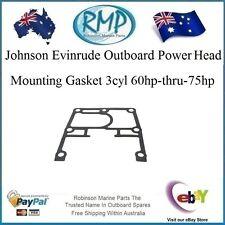 A New Power Head Mounting Gasket 3cyl 60hp-thru-75hp Johnson Evinrude # 313763