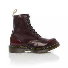 Dr. Martens 1460 Vegan Oxford Rub off Hi Top Shoe (cherry Red Size 9 Uk)