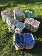 20 HalfDozen (6 Egg) Cardboard Egg Boxes - for Hen Eggs, Crafts,Seedlings. Used