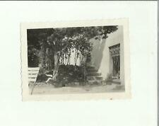 137002  FOTOGRAFIA FOTO ORIGINALE  bambina a lugano castagnola 1932 altalena