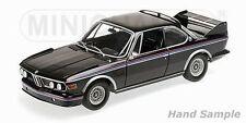 1:18 Minichamps BMW 3.0 CSL (E9) Coupé 1973 NEGRO CON RAYAS Edición Limitada