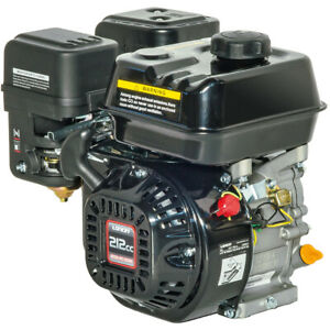 Loncin® Motore a benzina 4T Mod. G210 FA-T/Q | 7HP 212cc Albero Cilindrico D....