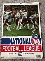 **AMERICAN FOOTBALL NFL OFFICIAL LICENSED 1993 CALENDAR - EXCELLENT CONDITION**