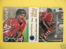 1995 SkyBox Emotion Promo Card Hockey Jeremy Roenick