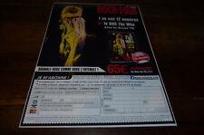 THE WHO  - Publicité de magazine / Advert !!! LIVE IN TEXAS 75 !!!