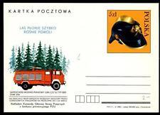 POLONIA - Intero post. - 1985 - (P937) - Protezione antincendio per la foreste