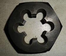 "TiAN chrome steel Die Nut 1/"" width Parallel Hex M4 x 0.7 RH"