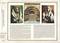 DOCUMENT OFFICIEL CARNET CROIX ROUGE 1973 COGNAC