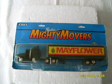 ERTL MIGHTY MOVERS KENWORTH T600A DIECAST TRACTOR &TRAILER MAYFLOWER
