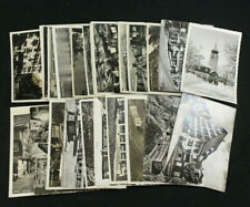 Collection Lot 28 RPPC Switzerland Hotel/Advertising Postcard Unused Used Stamps
