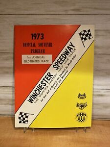 1977 Winchester Speedway 5th Annual Oldtimers Race program