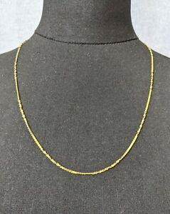 Lovely Vintage Gold tone Serpentine Nugget chain Necklace by Monet Jewellery