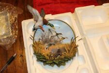 "Mallard Duck Plate! Authentic Ltd Edition ""Glorious Descent""! Rare Ltd # Edition"