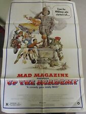 Vintage 1 sheet 27x41 Movie Poster Mad Magazine Presents up the Academy 1980