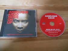 CD Ethno Angelique Kidjo - Move On Up (1 Song) Promo RAZOR & TIE jc Bono