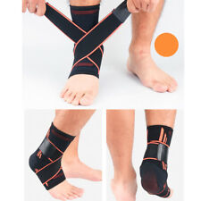Adjustable Ankle Brace Support Tennis Gym Protect Foot Wrap Sport Elastic Strap