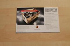 73094) Fiat Grande Punto Abarth Prospekt 11/2008