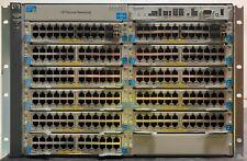 Hp ProCurve E5412 zl (J8698A) Switch Poe w/ Mod 2 x J9308A & 9 x J9307A modules