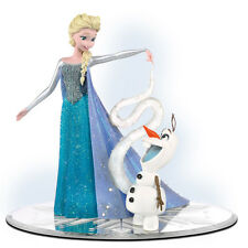Olaf's Personal Flurry  Elsa Disney Frozen Figurine - Bradford Exchange