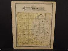 Michigan Clare County Map Sheridan  Township c.1905    J14#32