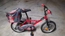 Bicicleta Infantil Bici Ciclismo para Niños Niñas 4 a 6  Años Rojo