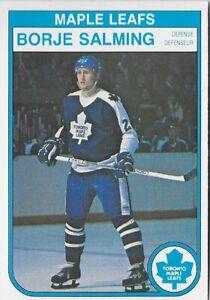 O-Pee-Chee 1982/83 Toronto Maple Leafs Hockey Card: Borje Salming #332 VF- ow494