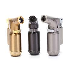 New Mini Refillable Lighter Butane Gas Jet Flame Torch Welding Cigar NO GAS