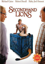 SECONDHAND LIONS (DVD, 2004) NEW