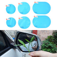 2xCar motorcycle rearview mirror anti-fog anti-glare waterproof film sticker!BBC