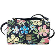 Dooney Bourke Garden Floral Mimi Crossbody  NEW OSFA DARK BLUE