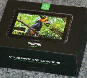 ATOMOS SHINOBI 5'' 4K HDMI Field Monitor vom Video Fachhändler