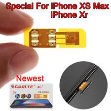 1PC R SIM GPP LTE 4G Sim Chip Unlock Turbo Card for iPhone XS Max Newest IOS 12