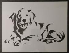 "Golden Labrador LAB Retriever Dog 11"" x 8.5"" Custom Stencil FAST FREE SHIPPING"