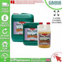 Canna Terra Flores A+B 1L - Flower Bloom Plant Nutrients Soil A&B 1 Litre