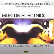 Morton Subotnick : Silver Apples of the Moon-The Wild Bull CD (2011) ***NEW***