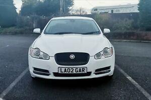 Jaguar Xf White 3.0 litre V6 petrol