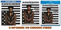 BlackkKlansman * 3 Options to choose from: Blu-ray+Digital or DVD * w/ Free Ship