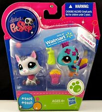 Littlest Pet Shop Sparkle Peacock Bird 2483 Dog 2482 Walmart 2011 More LPS Avail