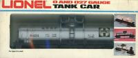Lionel O Gauge O27 Famous American Railroad Santa Fe ATSF 9321 Tank Car #6-9321U