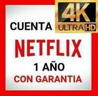 📺🔥 Netflix 4K UHD - 2 USUARIOS - 1 AÑO 📺🔥