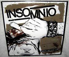 INSOMNIO Happy Loneliness LP PUNK ROCK Melodic Hardcore BLACK VINYL New INSERT X