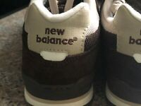 New Balance 598 Classic Size 9 Brown Suede  Tan Application, Womans