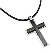 Men's Cross Pendant alloy necklace - Uk seller