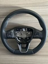 FORD FIESTA ST-LINE MODEL 2018-2020 FLAT BOTTOM LEATHER STEERING WHEEL RED